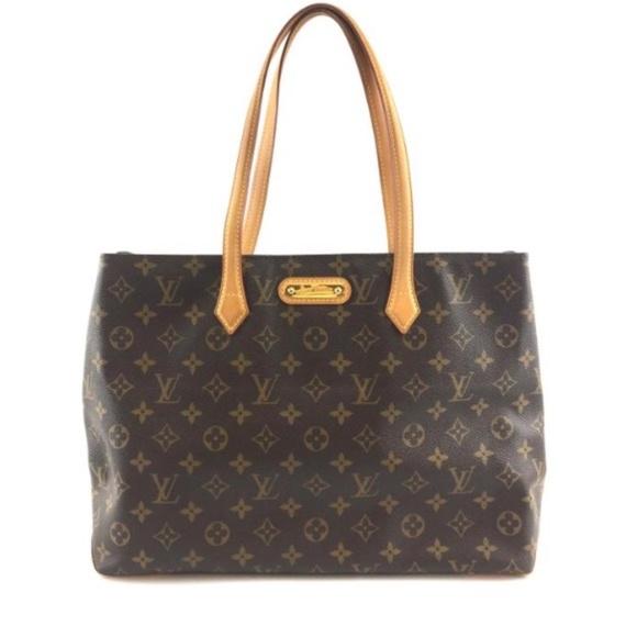 Louis Vuitton Handbags - Wilshire Brown Monogram Canvas Tote